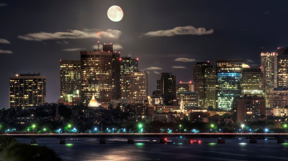 skyscrapers-boston-full-moon-nature-night-world-usa-capital-massachusetts-river-skyscrapers-city-bridge-lights-cool-wallpapers