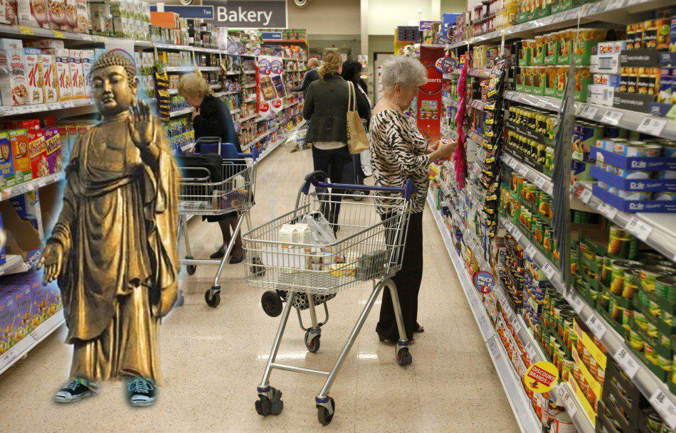 buddha la supermarket