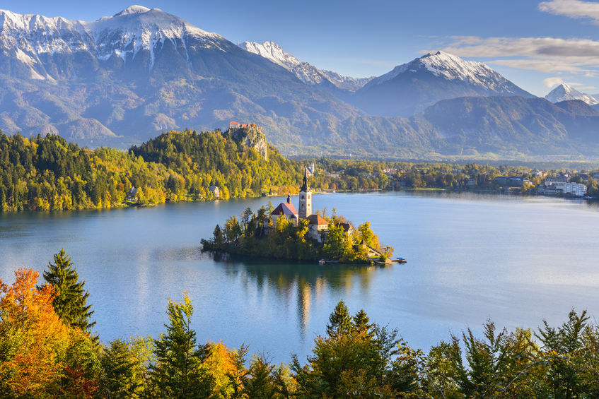 48710126 - panoramic view of lake bled, slovenia